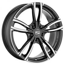 Oz 5X120 19X8 ET29 MSW 73 Gloss Dark Grey Full Polished promo